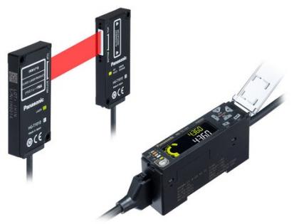 Hlavice senzoru pracuje s laserovým pásem o šířce 10 mm