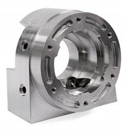 CNC PILOT 640 umožňuje komplexní 5D obrábění prostorově složitých tvarů soustružením a frézováním včetně dokončení ze strany úpichu