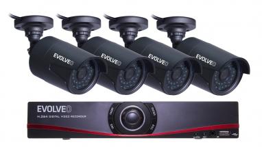 NVR kamerový systém EVOLVEO Detective D04 FHD