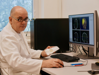 Přemysl Kršek, ředitel firmy TESCAN Medical