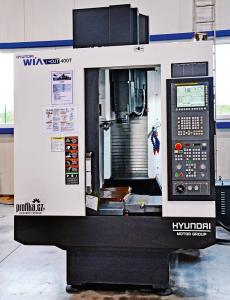 Obr. 1: Kompaktní obráběcí centrum Hyundai WIA i-Cut 400T