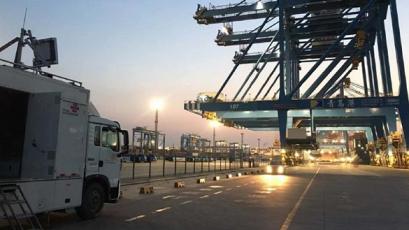 Ericsson a China Unicom vyvíjejí chytrý 5G přístav v čínském Port of Qingdao. (Zdroj: Ericsson)