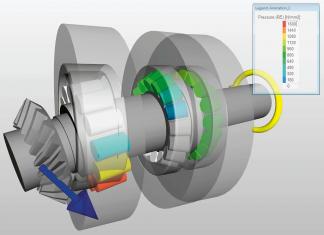 Vizualizace ve výpočtovém nástroji SKF SimPro Spindle