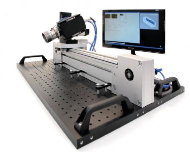 Bezkontaktní optické měřidlo rozměrů horkých součástek (vývoj s ÚPT AV ČR)