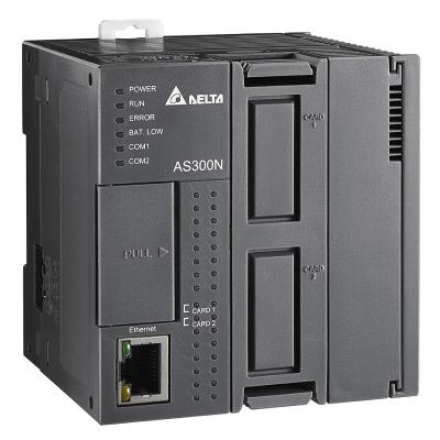 Prostřednictvím vestavěné komunikační sítě CANopen nabízí modul Delta Compact Modular střední řady PLC AS řízení polohy až 8 os s využitím komunikační karty AS-FCOPM