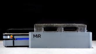 MiR500 palet transport