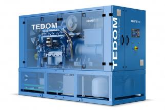 Kogenerační jednotka Cento T200 společnosti TEDOM