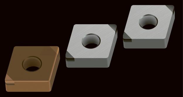 Nový povlak z TiAlSiN (model WBH10C) a nová geometrie nástroje zvyšují výkonnost vyměnitelných břitových destiček CBN