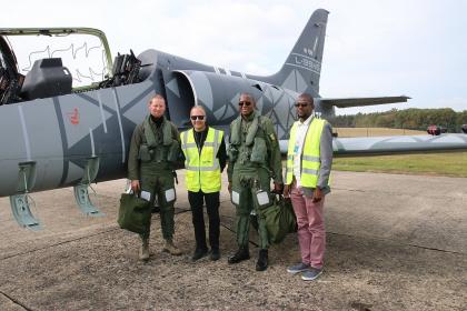 Vladimír Továrek, Dieter John (CEO of Aero), General Joseph Mamadou Diop, Captaine Lassana Diop