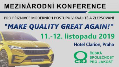Mezinárodní konference kvality České společnosti pro jakost