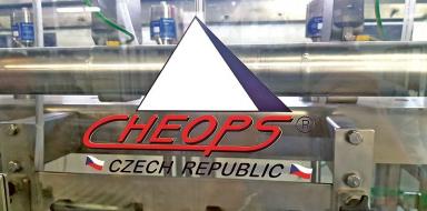 Hlavním výrobním programem společnosti CHEOPS jsou technologie pro potravinářský průmysl, zejména pro pivovarnictví.