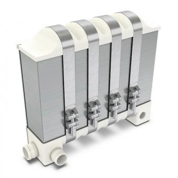 Viacvrstvené bipolárne platne tvoria jadro systému palivového článku