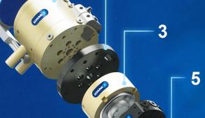 Schunk, prezentoval variantu štíhlých hydraulických upínačů Tendo Slim 4ax