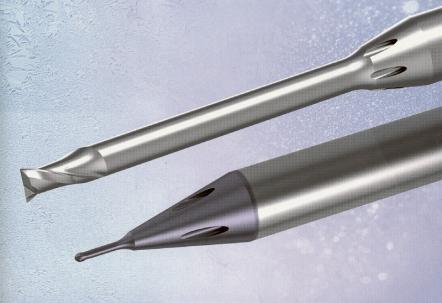 Obr. 3: Frézovací mikro nástroje Gühring