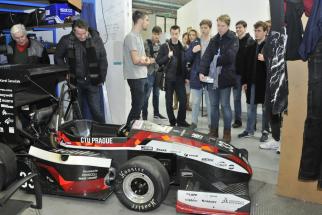 Fakulta strojní ČVUT v Praze se podílí na podpoře zájmu dětí o techniku již řadu let