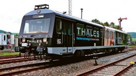 Poprvé vlak bez strojvůdce v síti 5G