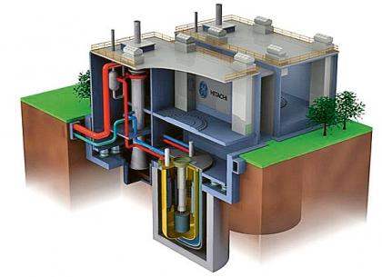 Model varného reaktoru typu BWR I, tedy modelu navrženého společností General Electric. Reaktory tohoto modelu stojí v elektrárně Fukušima-Daiči