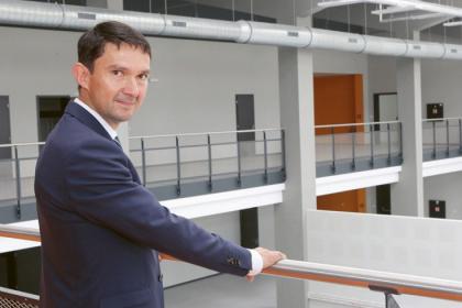 Interiéry nové firemní Střední průmyslové školy TOS Varnsdorf
