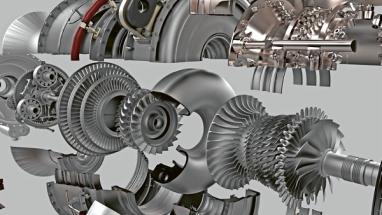 V motoru GE Catalyst 855 tradičně vyráběných součástí nahradilo 12 aditivně vytvořených