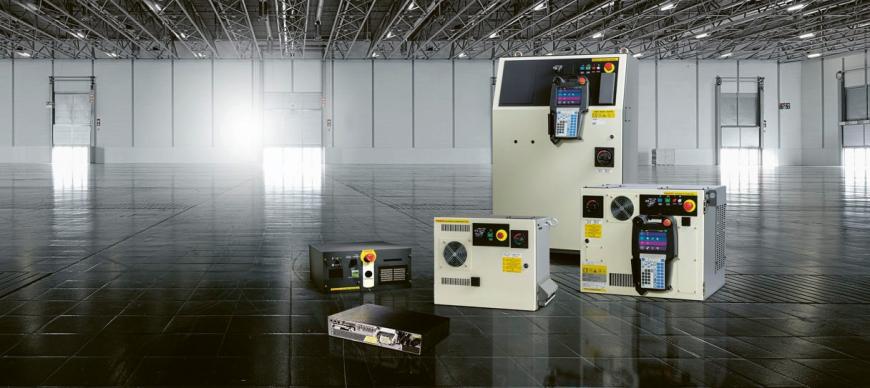 Novinkou na veletrhu byla řídicí jednotka pro ovládání robotů R-30iB Plus umožňující inteligentnější výrobu. Je dodávána ve čtyřech variantách