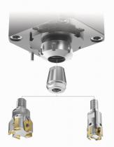 Změna CNC soustružnického centra na frézovací stroj díky možnosti použití malých průměrů fréz se závitovou stopkou v poháněných jednotkách ER