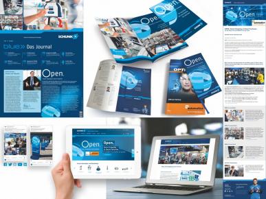 """Kampaň """"Open."""" využívá SCHUNK soustavně ve všech komunikčních kanálech. Posiluje jádro značky a je vhodná pro potřeby zákazníků. Obrázek: SCHUNK"""