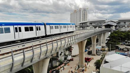 Prodloužení modré linky v Bangkoku je již v provozu