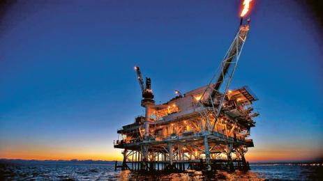 Ropná plošina společnosti Exxon Mobile /Foto: Exxon Mobile/