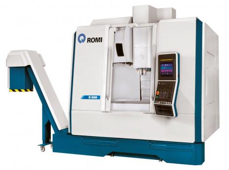 Obr. 2: Vertikální obráběcí centrum ROMI D800