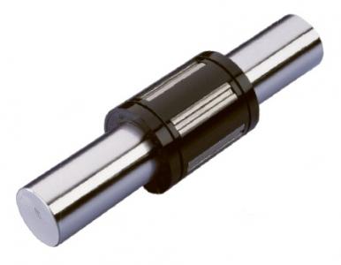 Pro vedení při tavném řezání se používají ložiska THOMSON Super Ball Bushing® na tyčích 60 Case® s kruhovým průřezem
