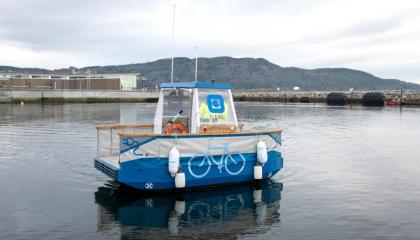 Společnost Ericsson se angažuje na poli vývoje autonomní vodní dopravy. (Zdroj: Ericsson)