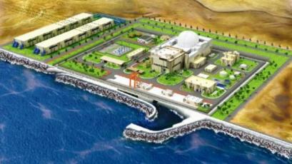 Vizualizace elektrárny vycházející ze SMART, návrh reaktoru (Obrázek: KAERI)