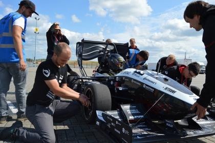 TU Brno Racing na závodech