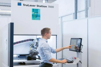 TruLaser Station 7000 se 4 kW výkonu umožňuje svařování i hlubších švů