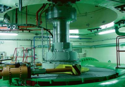 Vodní elektrárna Lipno I, víko spirály