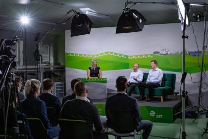 Konferenci mohli on-line sledovat zákazníci i partneři ZAT ve více než 50 zemích světa.