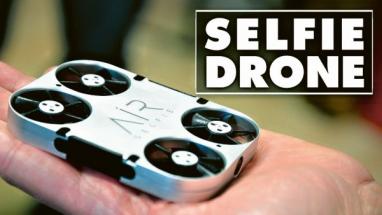 Dron air Selfie Pix+ automaticky následuje svého pilota