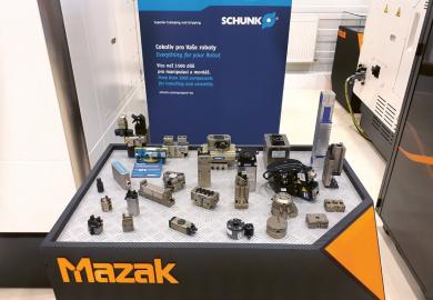 Ukázka šíře nabídky společnosti Schunk pro robotické systémy