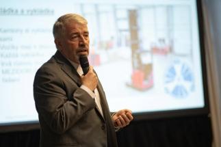 Martin Řehák z Linde Material Handling, Retail Summit