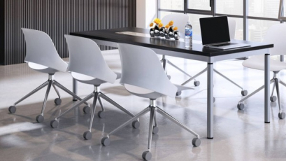 Židle Trea /Red Dot Award/ spojuje nadčasovou, čistou estetiku s vysokou úrovní funkčnosti (Ilustrační obrázek)
