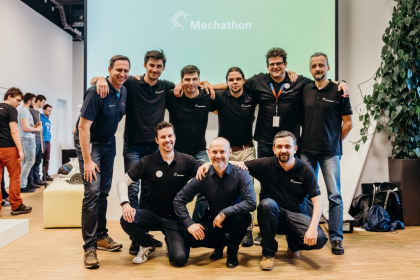 Mechathon 2020: Tým mentorů a zástupců Bosch