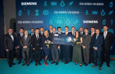 Ceny Wernera von Siemense pro nejlepší studenty, mladé vědce a pedagogy uděleny