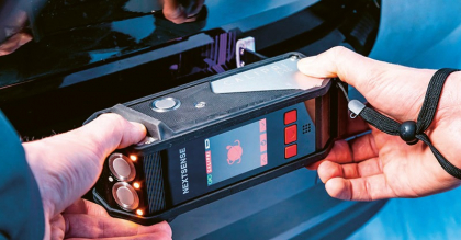 Laserové ruční měření spár – Calipri C15 Flex