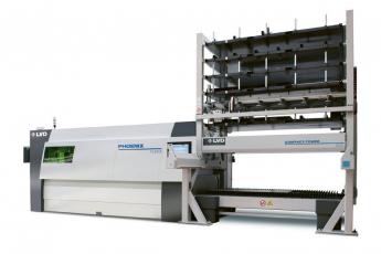 Phoenix FL-3015 s kompaktním paletovým manipulačním systémem CT-L
