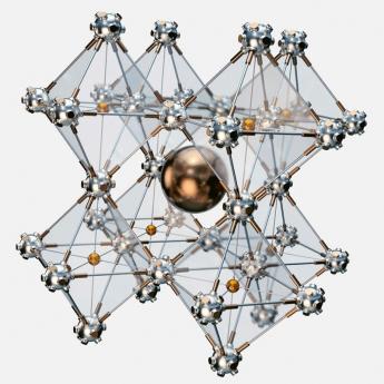 Struktura perovskitu /Foto: Saule Technologies/