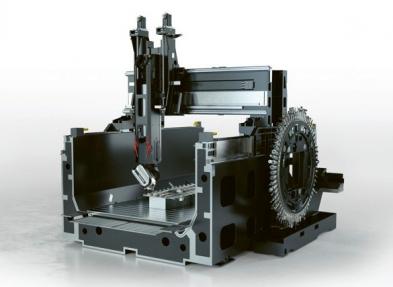 Obr. 1: Odkrytovaný stroj DMU 340 gantry