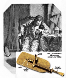 Antoni van Leeuwenhoek sestrojil asi 275krát zvětšující drobnohled