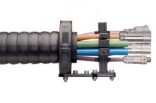 Robotické kabely chainflex® CFROBOT s konektory