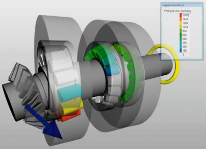Mezi výpočtové nástroje vyvinuté SKF patří také SKF SimPro Spindle – přesný a zároveň jednoduchý software pro simulaci ložisek sloužící k rychlému výběru a vyhodnocení vhodného uspořádání ložisek pro vřetena