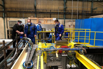 Výroba v plzeňských závodech ŠKODA JS stále probíhá díky obětavosti zaměstnanců